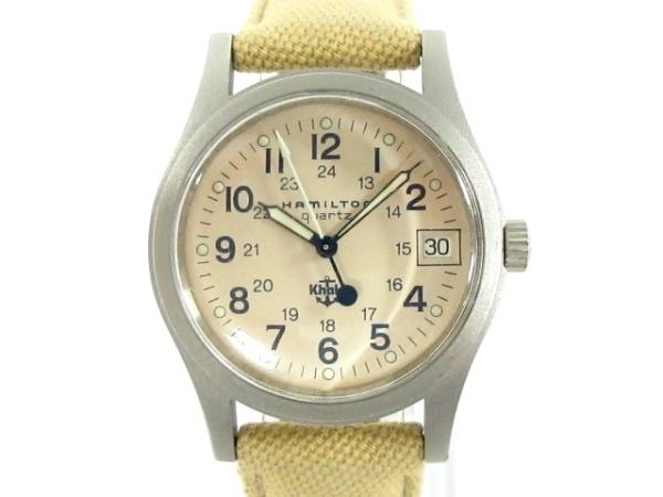 HAMILTON(ハミルトン) 腕時計 カーキ 9797 レディース アイボリー
