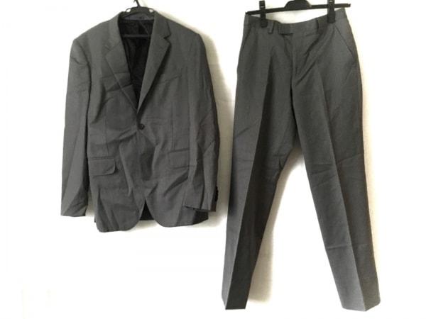 PaulSmith(ポールスミス) シングルスーツ サイズS メンズ グレー×パープル×オレンジ