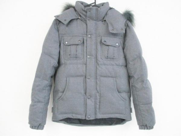 TETE HOMME(テットオム) ダウンジャケット サイズ6 メンズ グレー 冬物