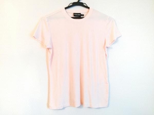 ジョルジオアルマーニ 半袖Tシャツ サイズUSA10 L レディース ライトピンク