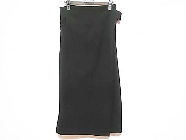 Y's(ワイズ) 巻きスカート サイズS レディース美品  黒