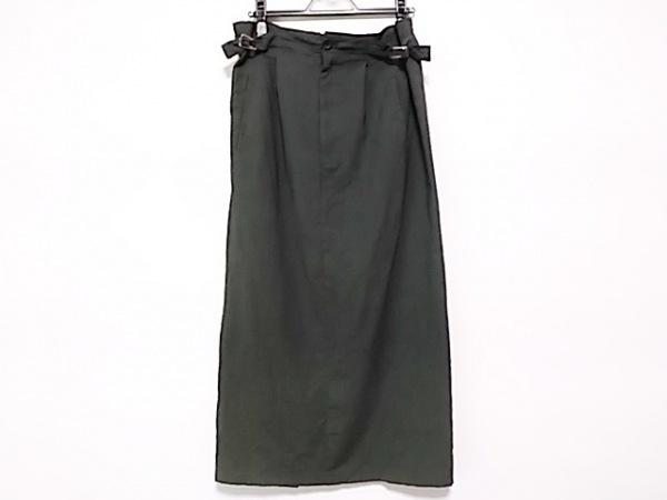 Y's(ワイズ) ロングスカート レディース ダークグレー