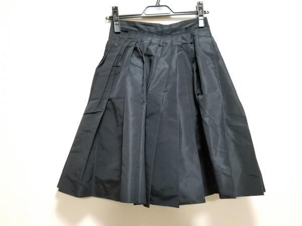 PRADA(プラダ) スカート サイズ36 S レディース美品  ダークネイビー プリーツ
