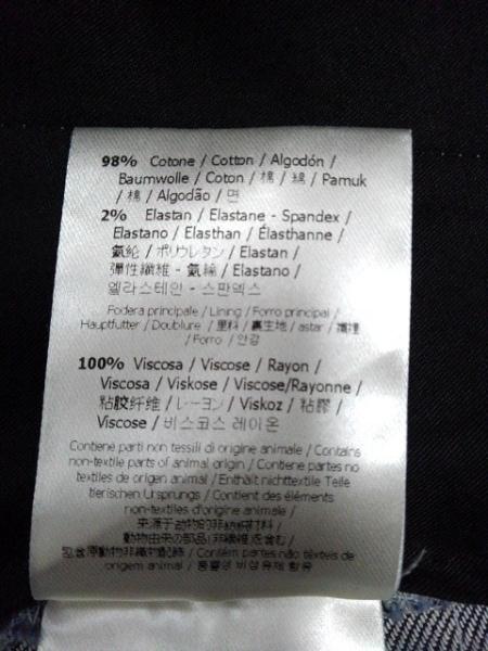 FENDI(フェンディ) ジーンズ サイズ54 L メンズ新品同様  白×ネイビー