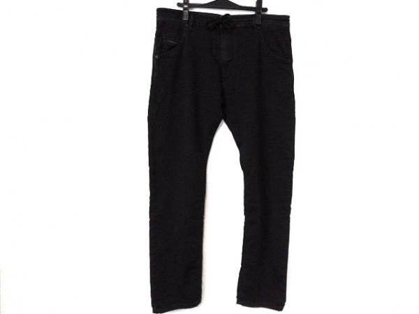 ディーゼル パンツ サイズ36 S メンズ KROOLEY CB-NE ダークグレー ストレッチ素材