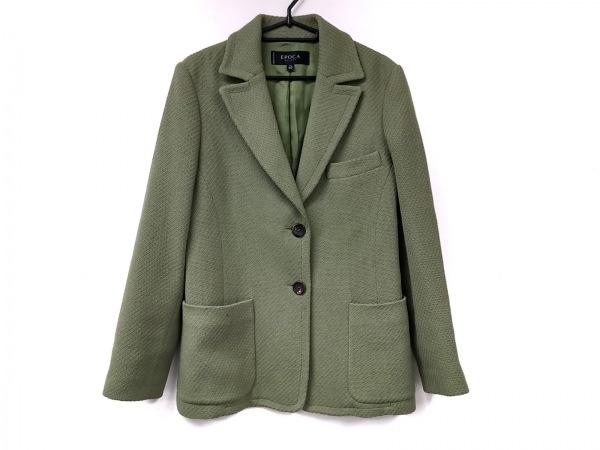 EPOCA(エポカ) ジャケット サイズ40 M レディース美品  グリーン