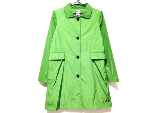 ニコ(ニコルソンアンドニコルソン) コート サイズ38 M レディース美品  グリーン