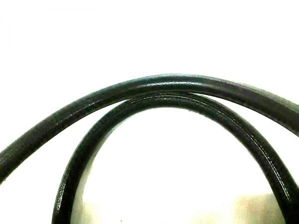 VERSACE(ヴェルサーチ) ボストンバッグ 黒×ゴールド 型押し加工 レザー