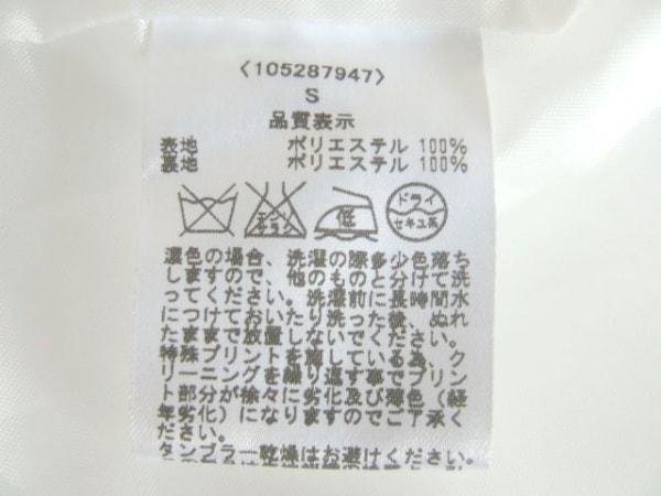 チェリーアン ワンピース サイズS S レディース 白×ダークグリーン×マルチ 花柄