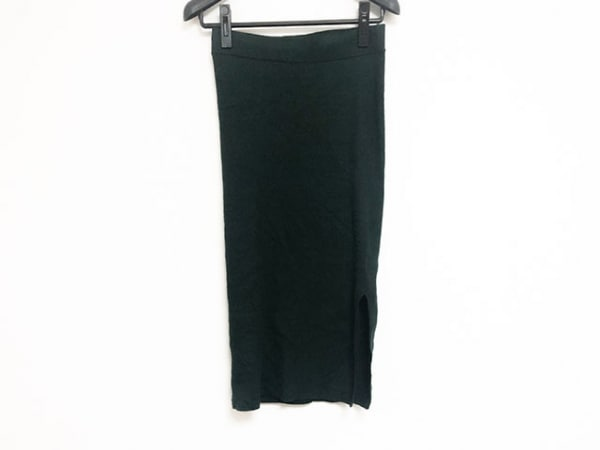 demylee(デミリー) ロングスカート サイズS レディース美品  グリーン ニット