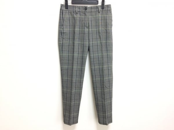 マッキントッシュフィロソフィー パンツ サイズ36 M レディース 黒×グレー×マルチ
