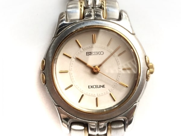 SEIKO(セイコー) 腕時計 エクセリーヌ 2J31-001A レディース アイボリー