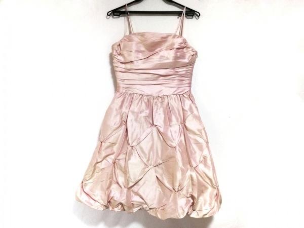 CEST LAVIE(セラヴィ) ドレス サイズ9 M レディース美品  ピンクベージュ