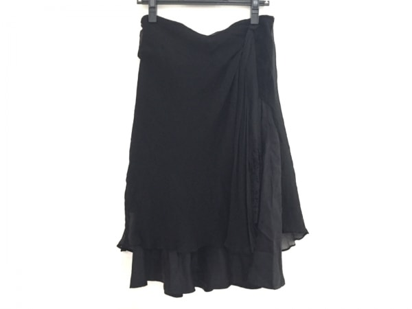 MIHARAYASUHIRO(ミハラヤスヒロ) スカート サイズM レディース 黒