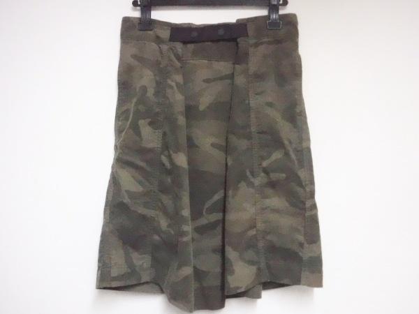 antgauge(アントゲージ) スカート サイズM レディース ダークグリーン×カーキ 迷彩柄