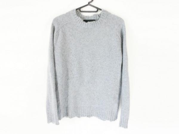 UNUSED(アンユーズド) 長袖セーター サイズ0 XS レディース グレー カシミヤ