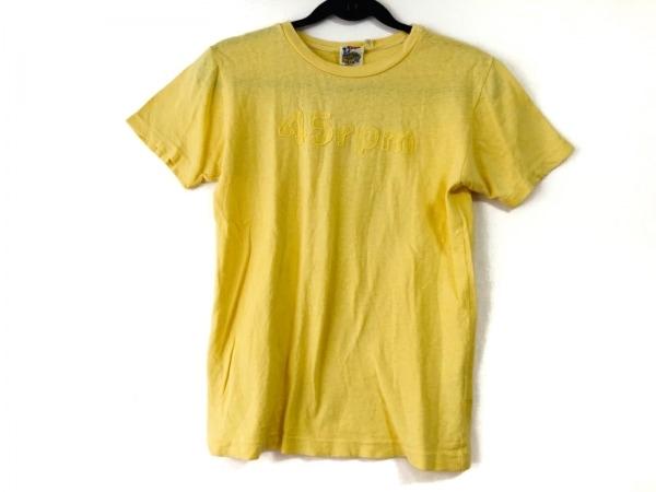 フォーティーファイブアールピーエム 半袖Tシャツ サイズ1 S レディース イエロー