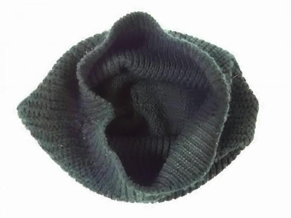 MARC JACOBS(マークジェイコブス) ニット帽 黒 アクリル
