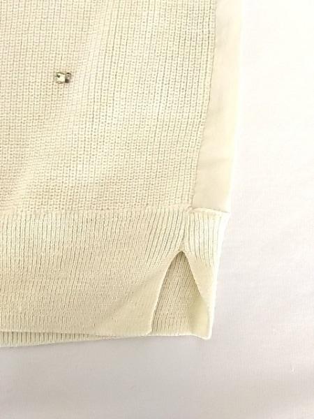 JUSGLITTY(ジャスグリッティー) 長袖セーター サイズ2 M レディース アイボリー
