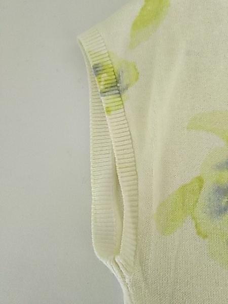 ジャスグリッティー 半袖セーター サイズ2 M レディース 花柄/ビーズ/ラインストーン