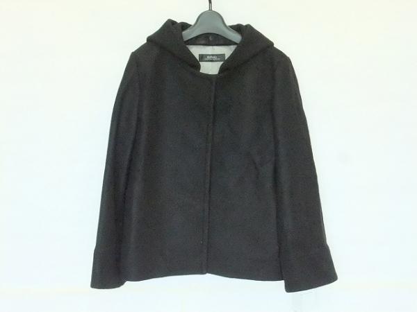 SRIC(スリック) コート サイズ38 M レディース美品  黒 冬物