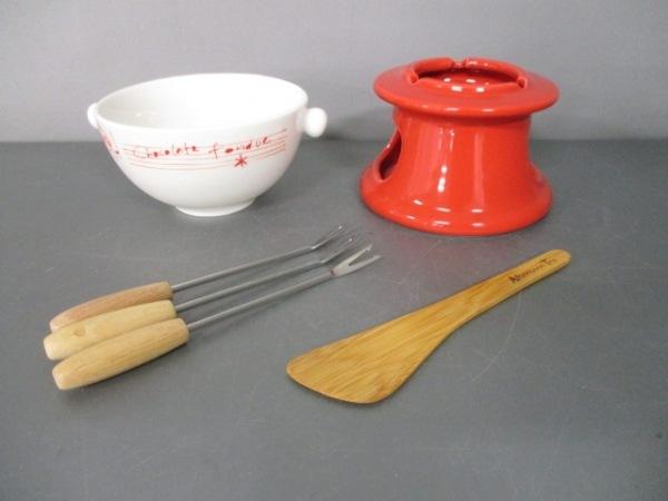 Afternoon Tea(アフタヌーンティー) 食器新品同様  白×レッド 陶器