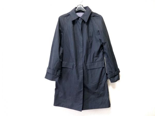 BRAHMIN(ブラーミン) コート サイズ40 M レディース 黒 フード付き/春・秋物