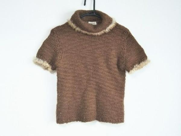 INGEBORG(インゲボルグ) 長袖セーター サイズM レディース ブラウン タートルネック