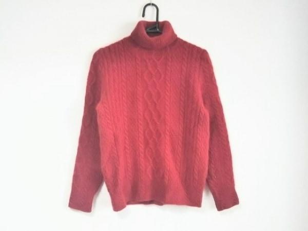 INGEBORG(インゲボルグ) 長袖セーター サイズM レディース レッド タートルネック