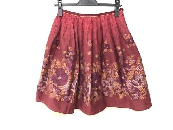 Lois CRAYON(ロイスクレヨン) スカート サイズM レディース美品  花柄