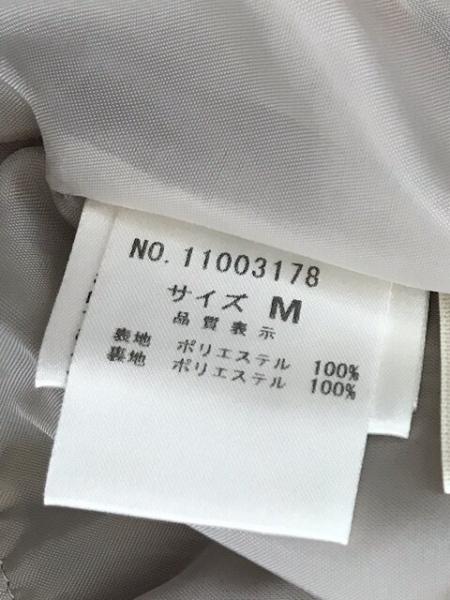 ロイスクレヨン ミニスカート サイズM レディース美品  グレー×黒 フリル