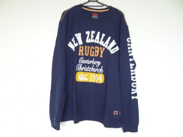 カンタベリーオブニュージーランド 長袖Tシャツ サイズXL メンズ美品