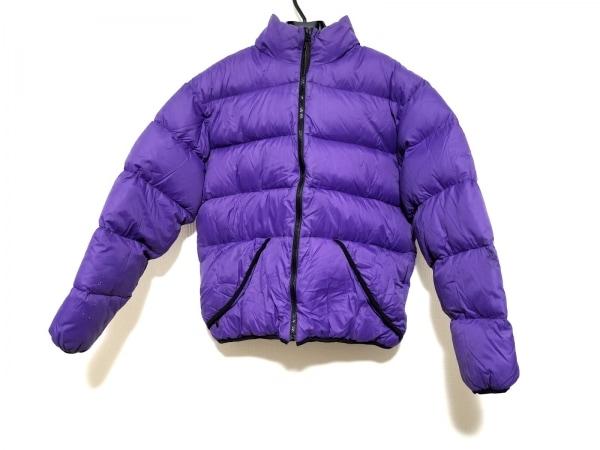 POINTER(ポインター) ダウンジャケット サイズM メンズ パープル 冬物/PERTEX