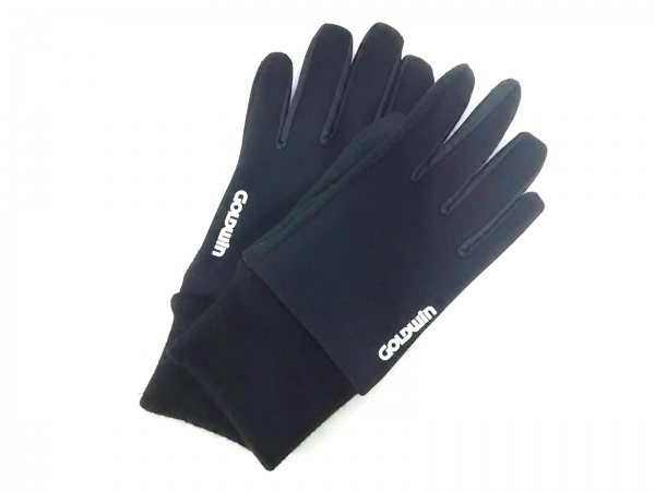 GOLDWIN(ゴールドウィン) 手袋 L メンズ 黒 ポリエステル×ナイロン×アクリル