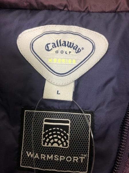 CALLAWAY(キャロウェイ) ベスト レディース美品  パープル