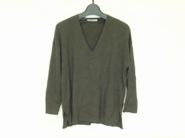 theory luxe(セオリーリュクス) 長袖セーター サイズ38 M レディース ダークグリーン