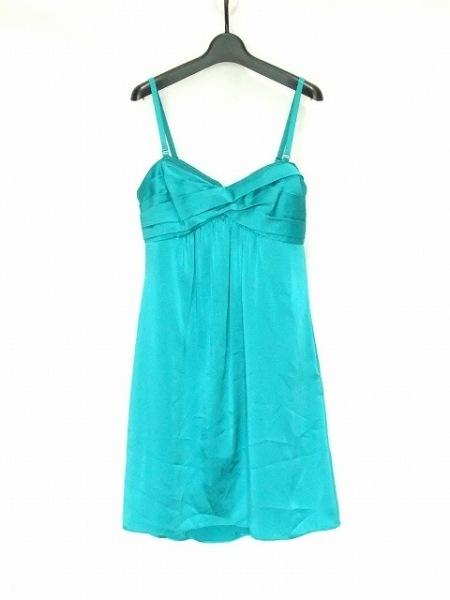 ビーシービージーマックスアズリア ドレス サイズ02 M レディース グリーン