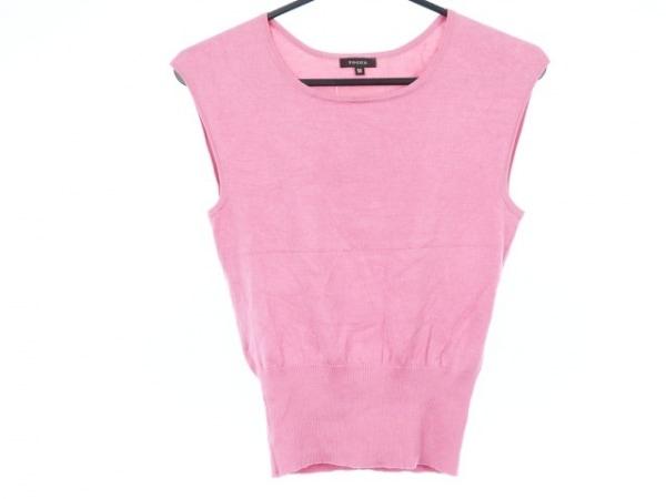 TOCCA(トッカ) ノースリーブセーター サイズM レディース美品  ピンク