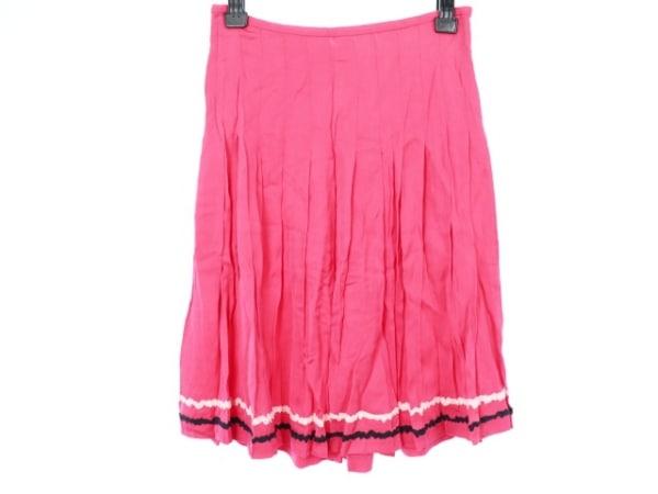 TOCCA(トッカ) スカート サイズ4 S レディース新品同様  ピンク×白×黒