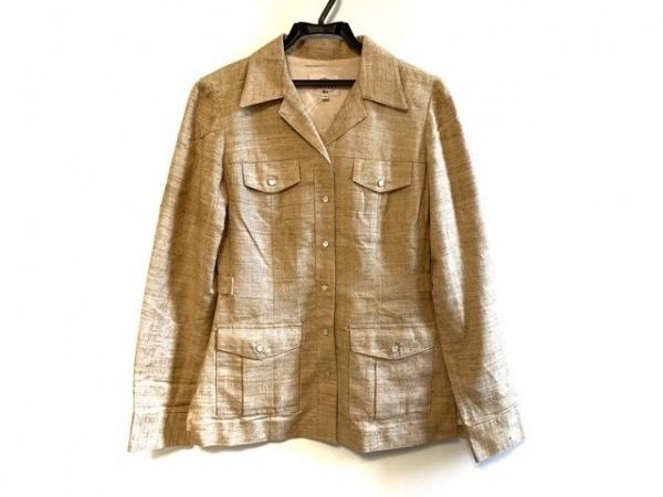 TOCCA(トッカ) ジャケット サイズ4 S レディース ベージュ シルク