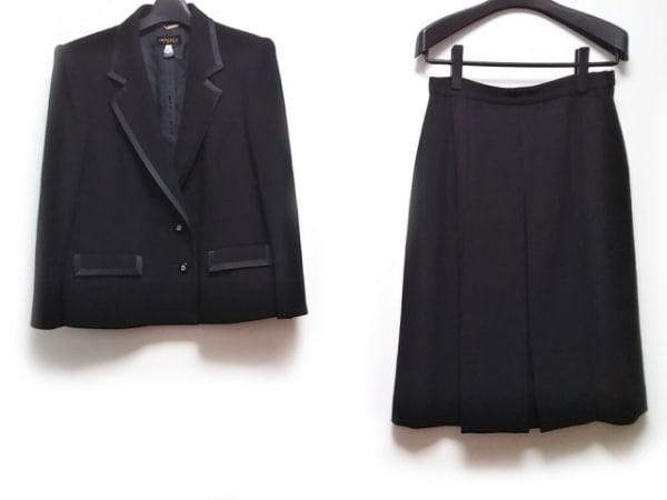Tokyo Soir(トウキョウソワール) スカートスーツ サイズ13 L レディース 黒