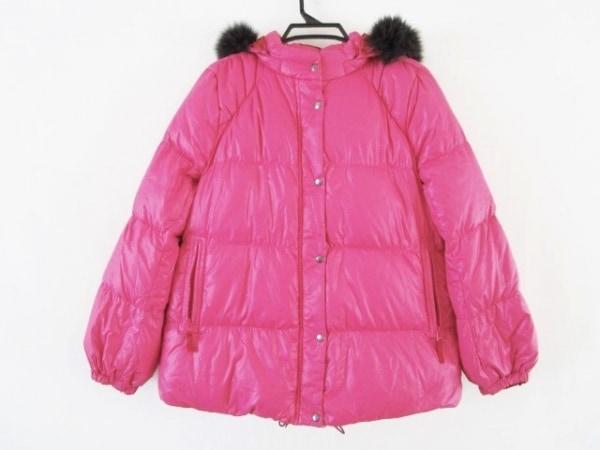 フランクウィーンセンス ダウンジャケット サイズ40 M レディース ピンク 冬物