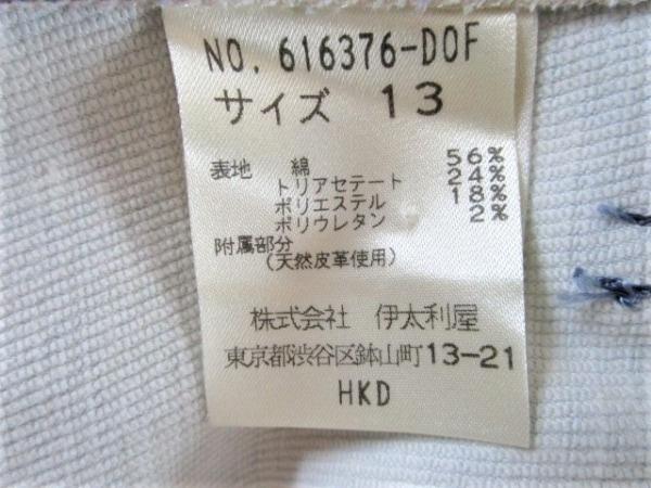 イタリヤ ジャケット サイズ13 L レディース ライトブルー×パープル×マルチ