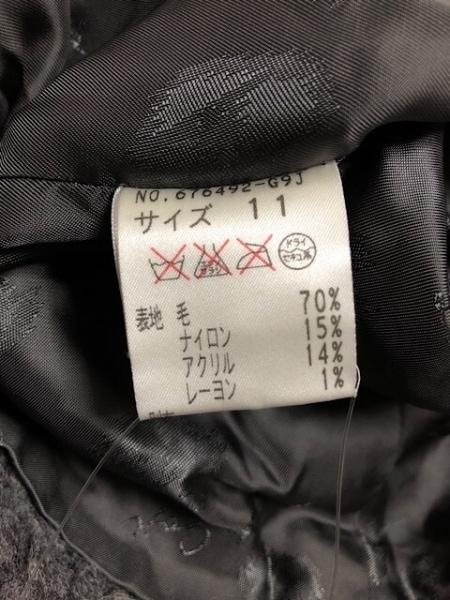 伊太利屋/GKITALIYA(イタリヤ) コート サイズ11 M レディース ダークグレー×ブラウン