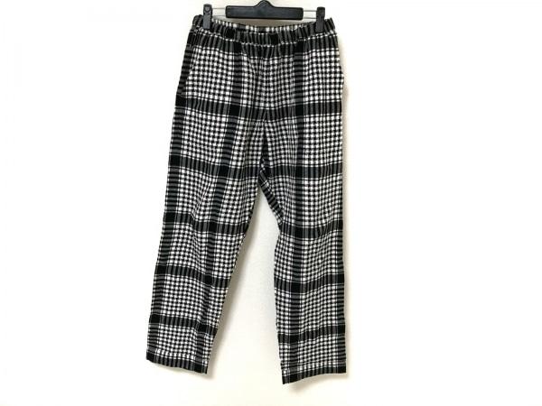 PHINGERIN(フィンガリン) パンツ メンズ 黒×白 チェック柄