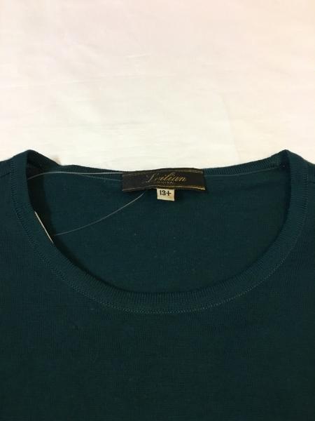 Leilian(レリアン) 長袖セーター サイズ13 L レディース グリーン