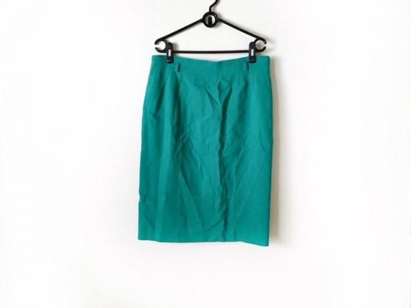 Leilian(レリアン) スカート サイズ13 L レディース ライトグリーン