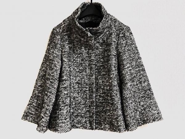 ANAYI(アナイ) ブルゾン サイズ36 S レディース美品  黒×白×ライトグレー