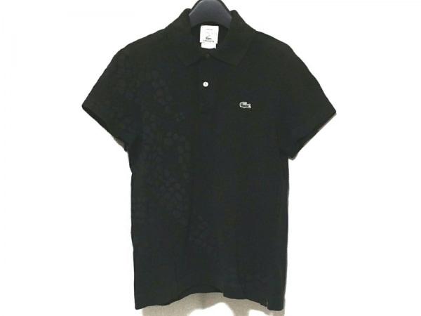 Lacoste(ラコステ) 半袖ポロシャツ サイズ2 M メンズ 黒