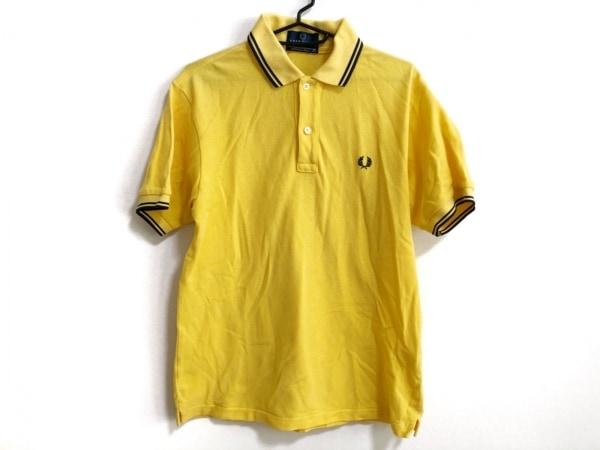 FRED PERRY(フレッドペリー) 半袖ポロシャツ サイズM メンズ イエロー